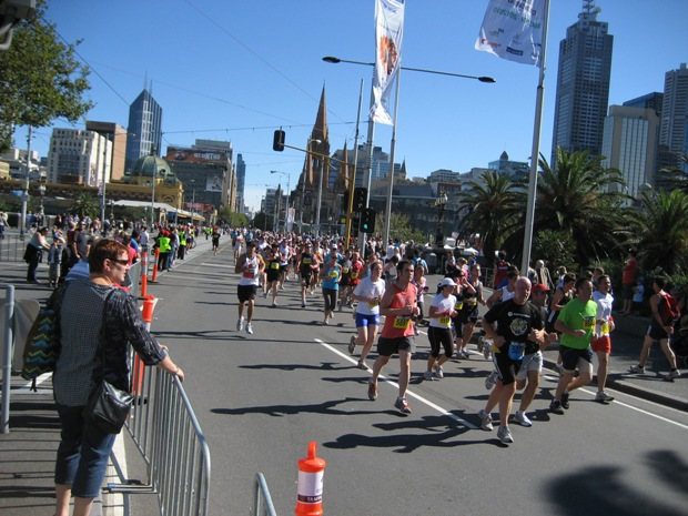 A small sample of 30,000 of your best running pals