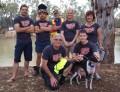 Our wonderful support crew: Johnty, Matt, Mick, Asha, Lyndal, and below: Trevor, Devo and Carolyn
