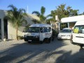Bus packing at paddlesteamer motel   swan hill