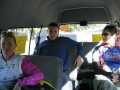 Cath  paul  chelle on bus